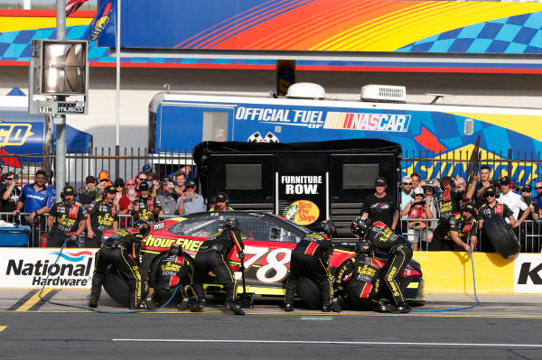 Monster Energy NASCAR Cup Series Monster Energy NASCAR All-Star Race Charlotte Motor Speedway, Concord, NC USA Friday 19 May 2017 Martin Truex Jr, Furniture Row Racing, 5-hour Energy Extra Strength Toyota Camry World Copyright: Matthew T. Thacker LAT Images ref: Digital Image 17CLT1mt1360