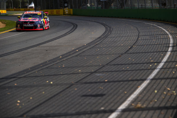 2017 Supercars Championship, Australian Grand Prix Support Race, Albert Park, Victoria, Australia. Thursday March 23rd to Sunday March 26th 2017. Jamie Whincup drives the #88 Red Bull Holden Racing Team Holden Commodore VF. World Copyright: Daniel Kalisz/LAT Images Ref: Digital Image 230217_VASCAUSGP_DKIMG_0287.JPG