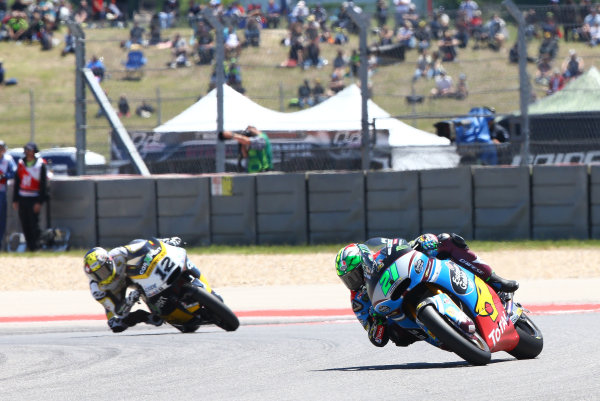 2017 Moto2 Championship - Round 3 Circuit of the Americas, Austin, Texas, USA Sunday 23 April 2017 Franco Morbidelli, Marc VDS World Copyright: Gold and Goose Photography/LAT Images ref: Digital Image Moto2-R-500-2900