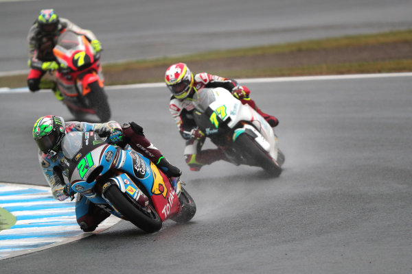 2017 Moto2 Championship - Round 15 Motegi, Japan. Sunday 15 October 2017 Franco Morbidelli, Marc VDS World Copyright: Gold and Goose / LAT Images ref: Digital Image 698114