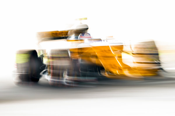 Suzuka Circuit, Japan. Saturday 07 October 2017. Jolyon Palmer, Renault R.S.17. World Copyright: Glenn Dunbar/LAT Images  ref: Digital Image _31I6963