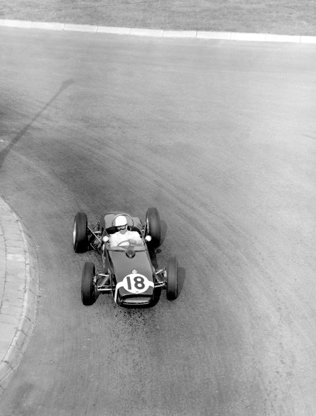 Stirling Moss (Lotus 18-Climax).Ref-C61292, 40mb RGB scan.World Copyright: LAT Photographic