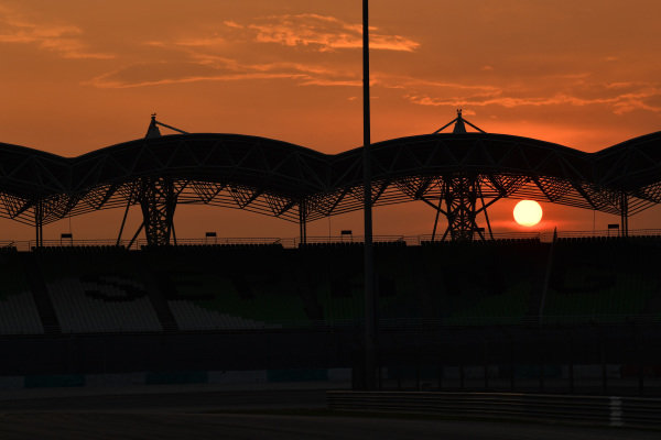Sunset at Sepang