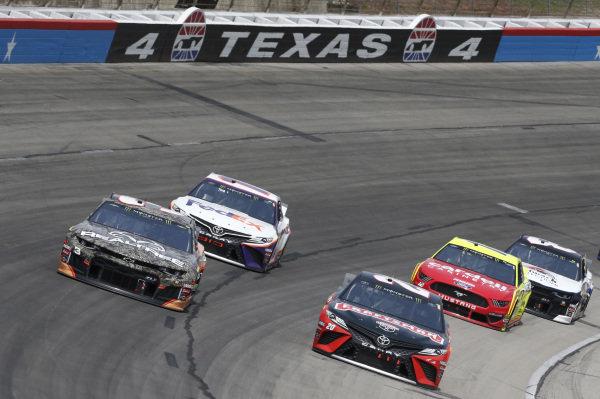 #20: Erik Jones, Joe Gibbs Racing, Toyota Camry Craftsman #3: Austin Dillon, Richard Childress Racing, Chevrolet Camaro Realtree