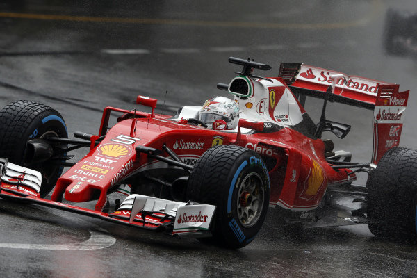 Sebastian Vettel (GER) Ferrari SF16-H at Formula One World Championship, Rd6, Monaco Grand Prix, Race, Monte-Carlo, Monaco, Sunday 29 May 2016.