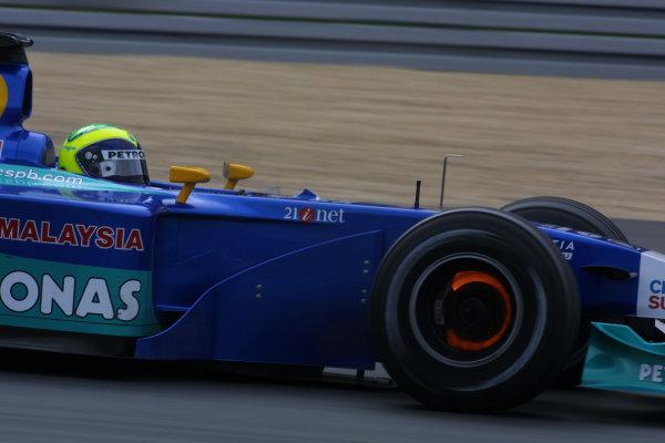 2002 European Grand Prix - Sunday RaceNurburgring, Germany. 23rd June 2002.Felipe Massa, Sauber Petronas C21, action.World Copyright: LAT Photographic.ref: Digital Image Only