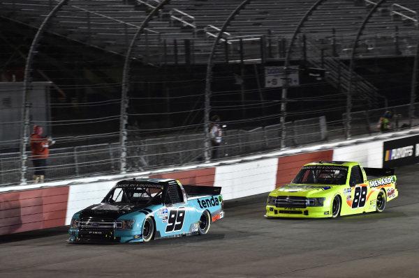 #99: Ben Rhodes, ThorSport Racing, Ford F-150 Tendam #88: Matt Crafton, ThorSport Racing, Ford F-150 Ideal Door/Menards