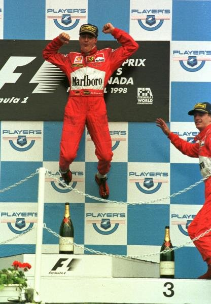 1998 Canadian Grand Prix.Montreal, Quebec, Canada.5-7 June 1998.Michael Schumacher (Ferrari) 1st position.World Copyright - Steve Etherington/LAT Photographic