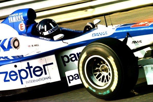 1997 Brazilian Grand Prix.Interlagos, Sao Paulo, Brazil.28-30 March 1997.Damon Hill (Arrows A18 Yamaha).World Copyright - Tee/LAT Photographic