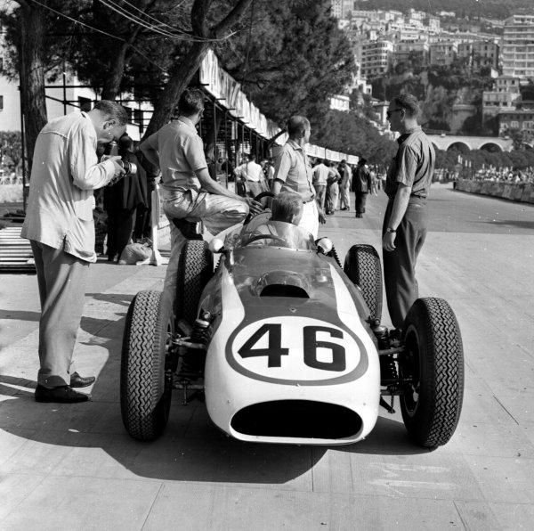 1960 Monaco Grand Prix.Monte Carlo, Monaco.26-29 May 1960.Chuck Daigh (Scarab).Ref-6426.World Copyright - LAT Photographic