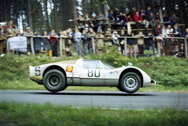 Sten Axelsson / Hans Laine, Sten Axelsson, Porsche 906 125.