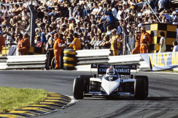 Nelson Piquet, Brabham BT52B BMW.