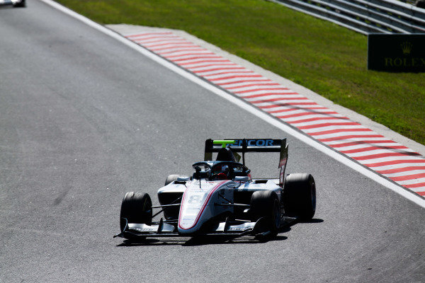 HUNGARORING, HUNGARY - AUGUST 04: Fabio Scherer (CHE, Sauber Junior Team by Charouz) during the Hungaroring at Hungaroring on August 04, 2019 in Hungaroring, Hungary. (Photo by Joe Portlock / LAT Images / FIA F3 Championship)