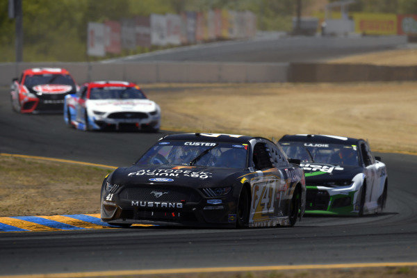 #41: Cole Custer, Stewart-Haas Racing, Ford Mustang Autodesk/HaasTooling.com