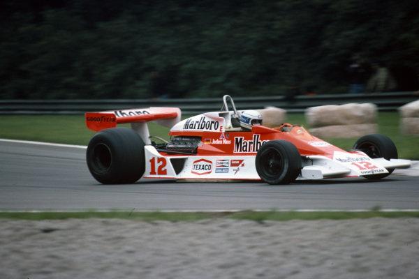 Jochen Mass, McLaren M23 Ford.