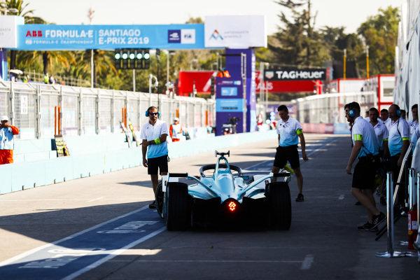 Tom Dillmann (FRA), NIO Formula E Team, NIO Sport 004 in the pits