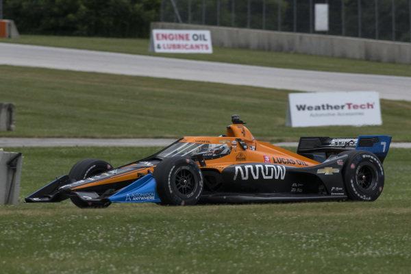#7: Oliver Askew, Arrow McLaren SP Chevrolet