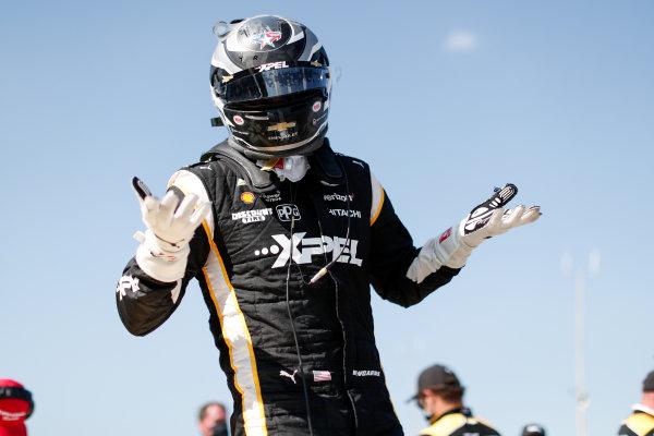 Pole sitter Josef Newgarden, Team Penske Chevrolet, Copyright: Joe Skibinski - IMS Photo.