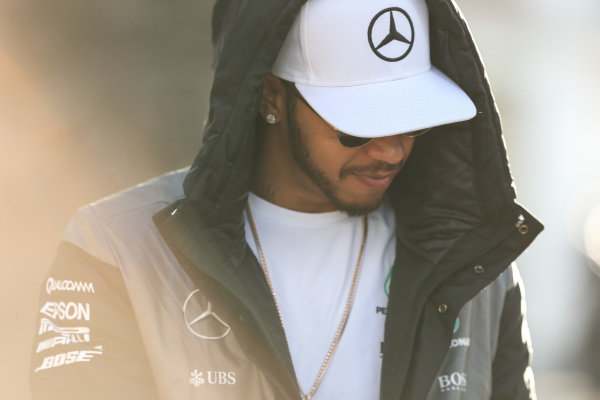 Lewis Hamilton (GBR) Mercedes AMG F1 at Formula One World Championship, Rd19, Mexican Grand Prix, Qualifying, Circuit Hermanos Rodriguez, Mexico City, Mexico, Saturday 29 October 2016.
