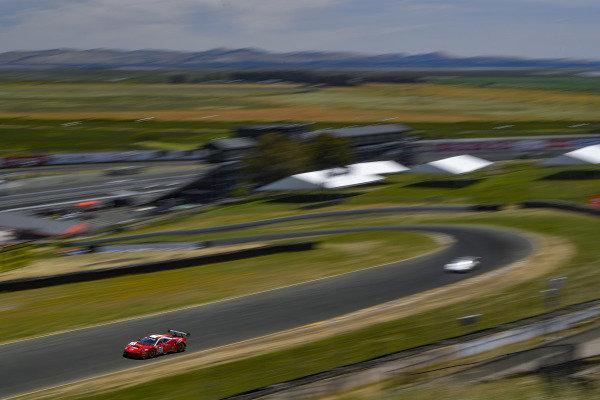 #61 Ferrari 488 GT3 of Miguel Molina and Toni Vilander