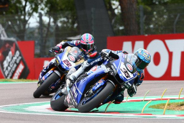 Marco Melandri, GRT Yamaha WorldSBK, Alex Lowes, Pata Yamaha.