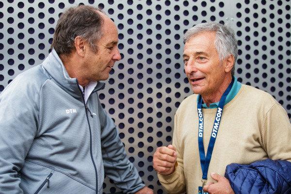 ex-F1 drivers Gerhard Berger and Riccardo Patrese