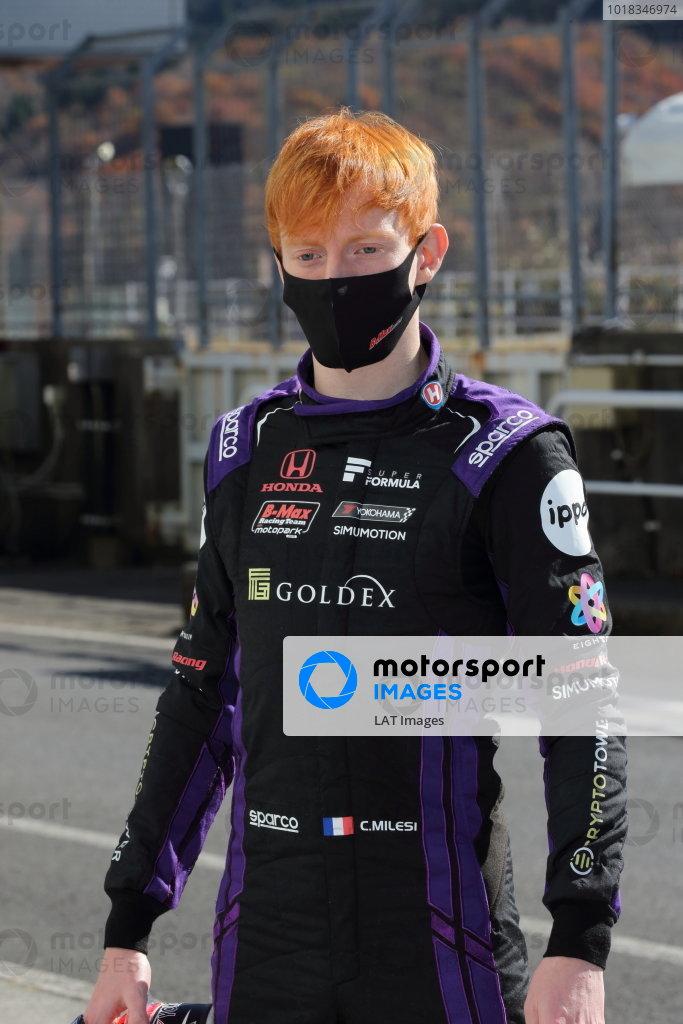 Charles Milesi ( #51 Buzz Racing with B-Max ) Photo: Yukio Yoshimi