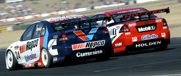 2004 Australian V8 Supercarsrd 6, Queensland Raceway, Brisbane. 4th July.Tander, actionWorld Copyright: Mark Horsburgh/LAT Photographicref: Digital Image Only