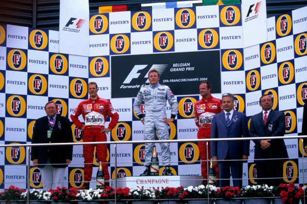 2004 Belgian Grand Prix.