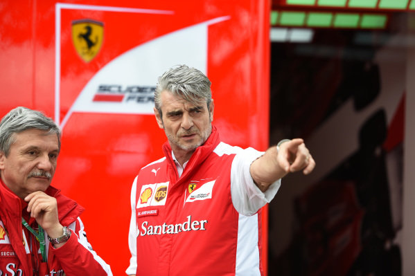 Maurizio Arrivabene (ITA) Ferrari Team Principal at Formula One World Championship, Rd1, Australian Grand Prix, Preparations, Albert Park, Melbourne, Australia, Thursday 12 March 2015.