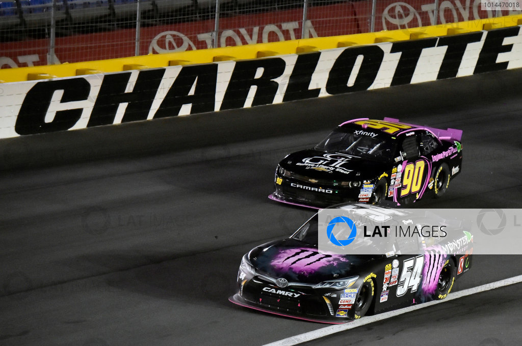 8-9 October, 2015, Concord, North Carolina USA Kyle Busch, Monster Energy Toyota Camry and Jimmy Weller III ? 2015, Nigel Kinrade LAT Photo USA
