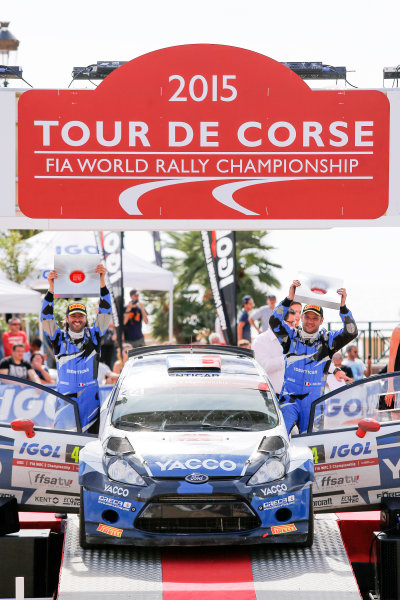 2015 World Rally Championship Round 11, Tour de Corse  1st - 4th October, 2015 Julien Maurin, Ford, winner WRC-2  Worldwide Copyright: McKlein/LAT
