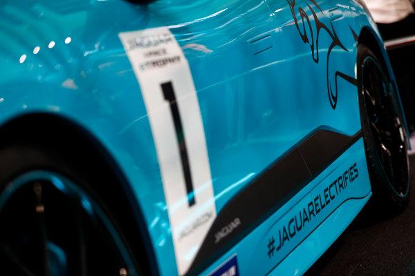 Autosport International Exhibition. National Exhibition Centre, Birmingham, UK. Thursday 11th January 2017. The Jaguar I-Pace Trophy.World Copyright: Glenn Dunbar/LAT Images Ref: _X4I4113