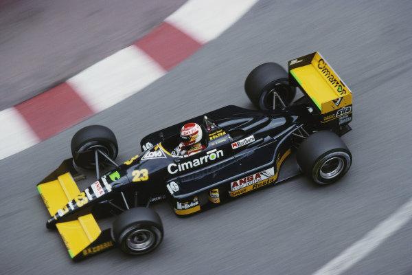Adrian Campos, Minardi M188 Ford.