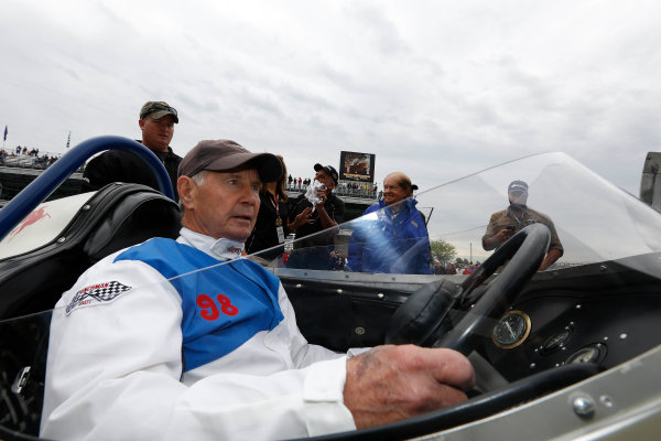 25  May, 2013, Indianapolis, Indiana, USA Parnelli Jones in the cockpit of his 1963 winning car © 2013, Michael L. Levitt LAT Photo USA.