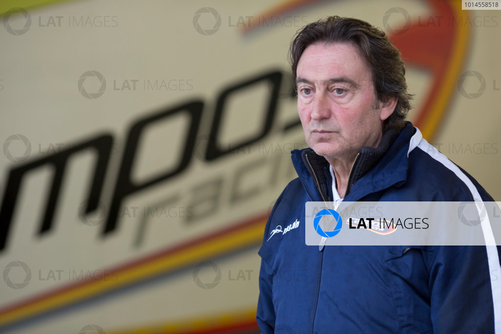 2016 Barcelona Testing. Circuit de Catalunya, Barcelona, Spain. Thursday 21st April. Adrian Campos, Campos Racing Team principal.  World Copyright: Alastair Staley/LAT Photographic. ref: Digital Image 585A7514