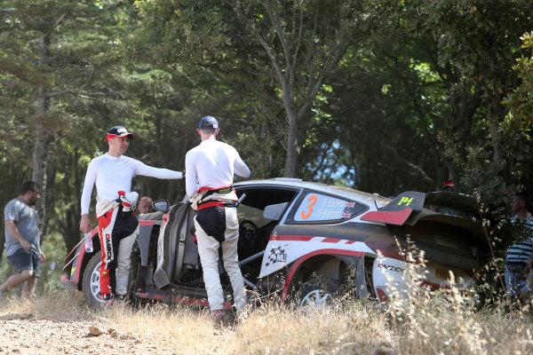 2017 FIA World Rally Championship, Round 07, Rally Italia Sardegna, June 8-11, 2017, Elfyn Evans, Ford, accident Worldwide Copyright: McKlein/LAT