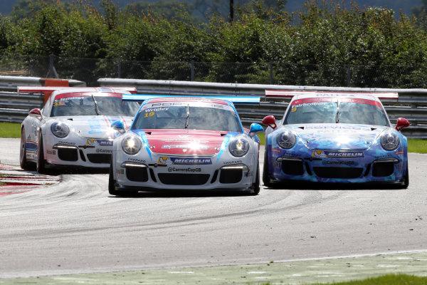 2017 Porsche Carrera Cup GB,  Snetterton. 29th-30th July 2017, Tom Wrigley (GBR) IN2 Racing Porsche Carrera Cup World copyright. JEP/LAT Photographic