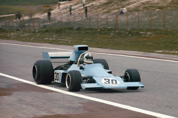 1974 Spanish Grand Prix.  Jarama, Madrid, Spain. 26-28th April 1974.  Chris Amon, Amon AF1 Ford, retired.  Ref: 74ESP15. World Copyright: LAT Photographic