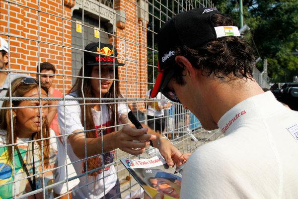 Practice Session 1. Bruno Senna (BRA)/Mahindra Racing - Renault Spark ST_01  FIA Formula E World Championship. Buenos Aires, Argentina, South America. Saturday 10 January 2015.  Copyright: Adam Warner / LAT / FE ref: Digital Image _A8C1424