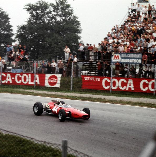 Monza, Italy. 2-4 September 1966.Giancarlo Baghetti (Ferrari 158/246).Ref-3/2356.World Copyright - LAT Photographic