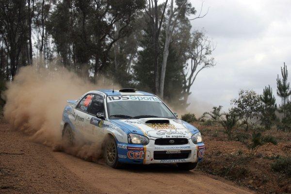 2005 FIA World Rally Champs. Round Sixteen, Rally Australia.10th - 13th November 2004.Gabriel Pozzo, Subaru, action.World Copyright: McKlein/LAT