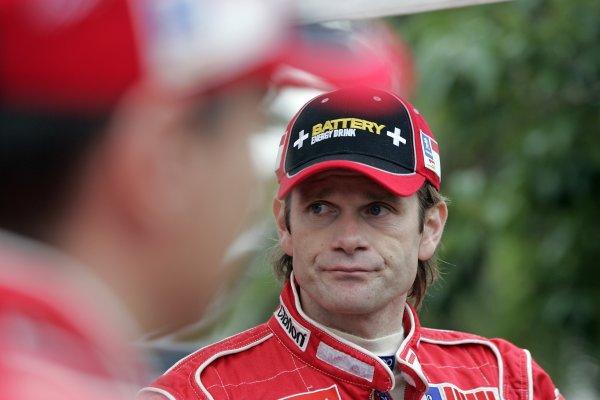 2005 FIA World Rally Champs. Round fourteenRallye De France.20th-23rd October 2005.Marcus Gronholmi, Peugeot, portrait.World Copyright: McKlein/LAT