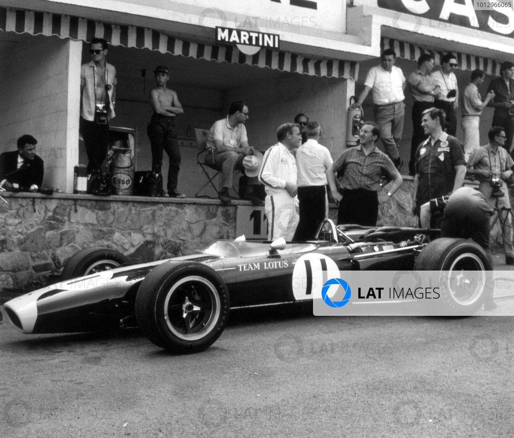 1966 Belgian Grand Prix.Spa-Francorchamps, Belgium. 12 June 1966.Peter Arundell, Lotus 43-BRM, did not start, portrait.World Copyright: LAT PhotographicRef: 34915