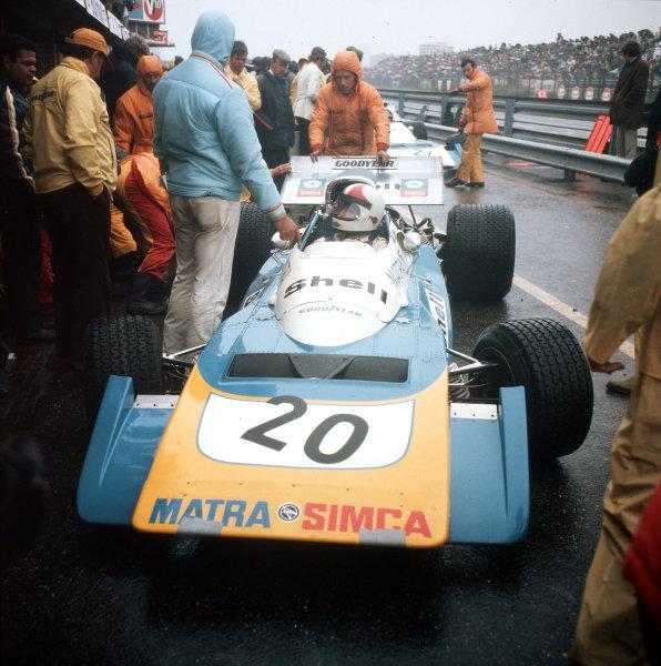 Zandvoort, Holland.18-20 June 1971.Chris Amon (Matra-Simca MS120B).Ref-3/4774E.World Copyright - LAT Photographic