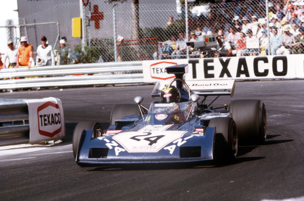 Monte Carlo, Monaco.31/5-3/6 1973.Carlos Pace (Surtees TS14A Ford).  World Copyright - LAT Photographic