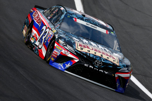 Monster Energy NASCAR Cup Series Coca-Cola 600 Charlotte Motor Speedway, Concord, NC USA Thursday 25 May 2017 Gray Gaulding, BK Racing, Bubba Burger Toyota Camry World Copyright: Lesley Ann Miller LAT Images