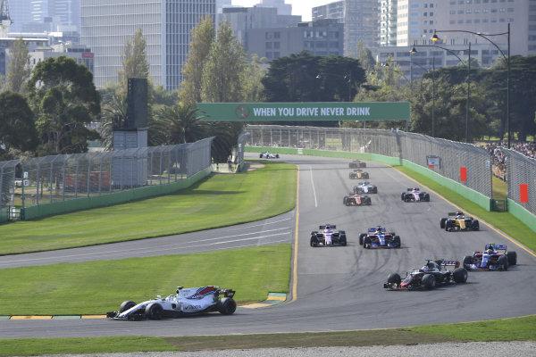 Felipe Massa (BRA) Williams FW40 at Formula One World Championship, Rd1, Australian Grand Prix, Race, Albert Park, Melbourne, Australia, Sunday 26 March 2017.