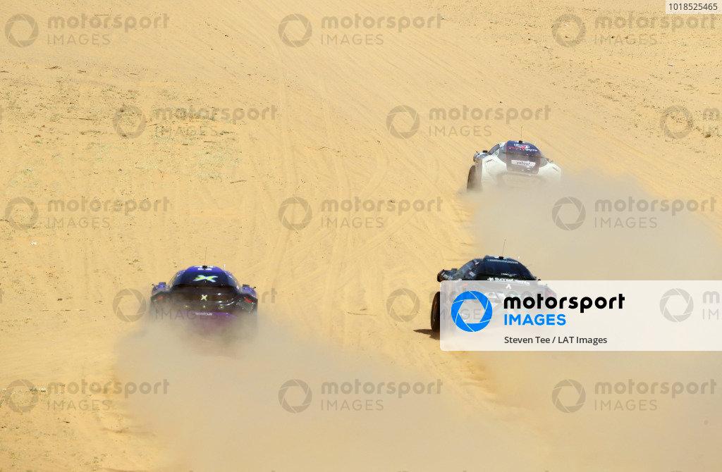 Cristina Gutierrez (ESP)/Sebastien Loeb (FRA), X44 Molly Taylor (AUS)/Johan Kristoffersson (SWE), Rosberg X Racing and Catie Munnings (GBR)/Timmy Hansen (SWE), Andretti United Extreme E