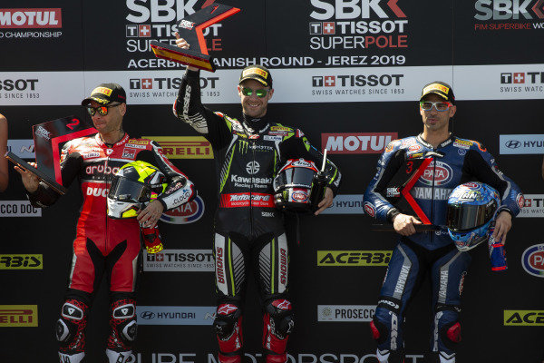 Alvaro Bautista, Aruba.it Racing-Ducati Team, Jonathan Rea, Kawasaki Racing, Marco Melandri, GRT Yamaha WorldSBK